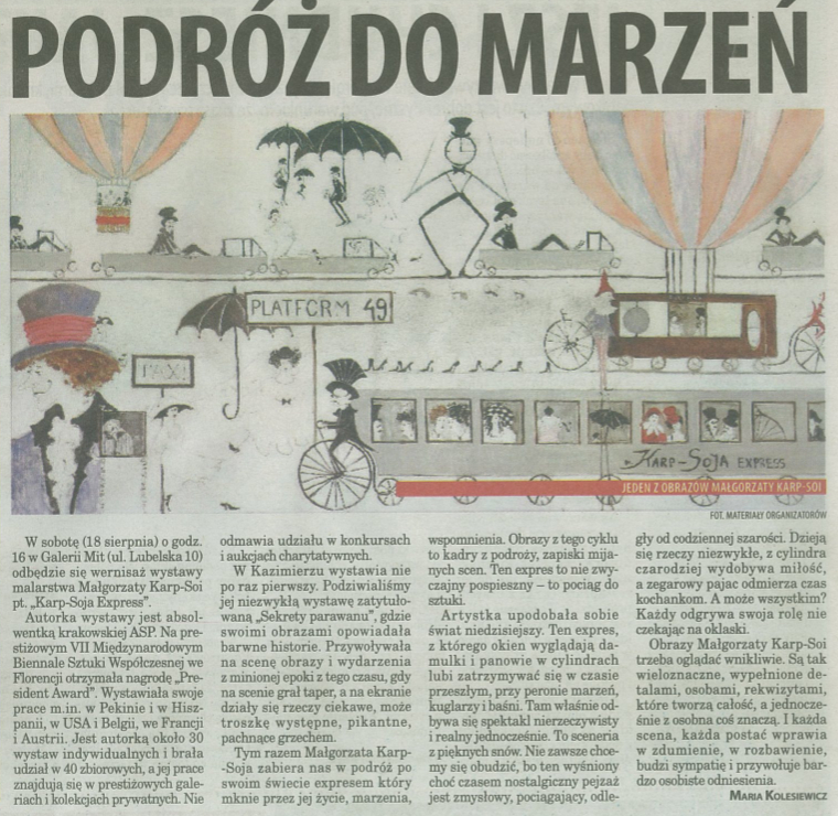 podroz do marzen